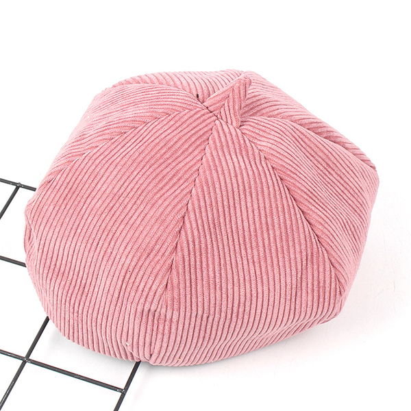 Leisure Stripe Design Beanie Vogue Outdoor Hexagon Skullcap