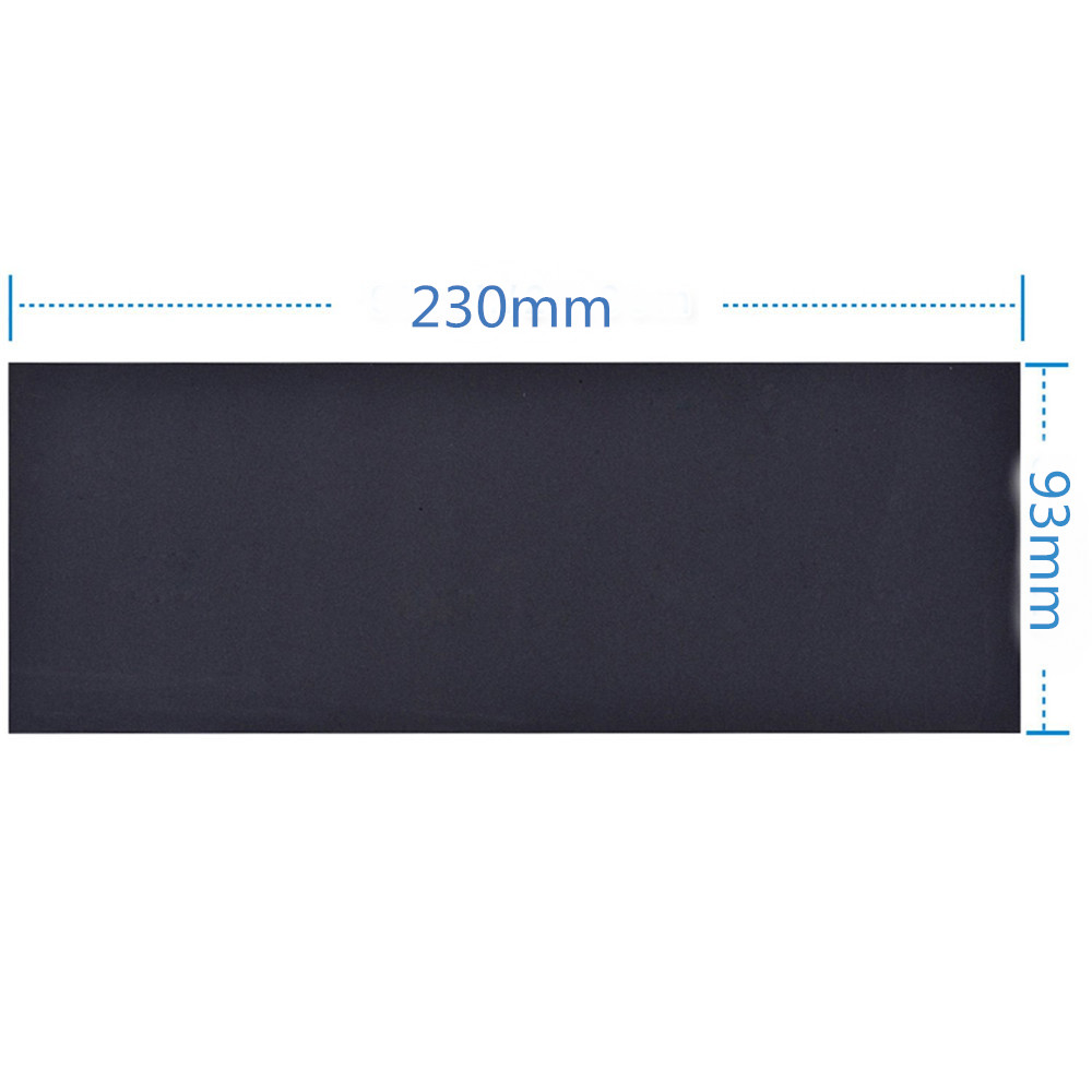 230X93mm Waterproof Sandpaper