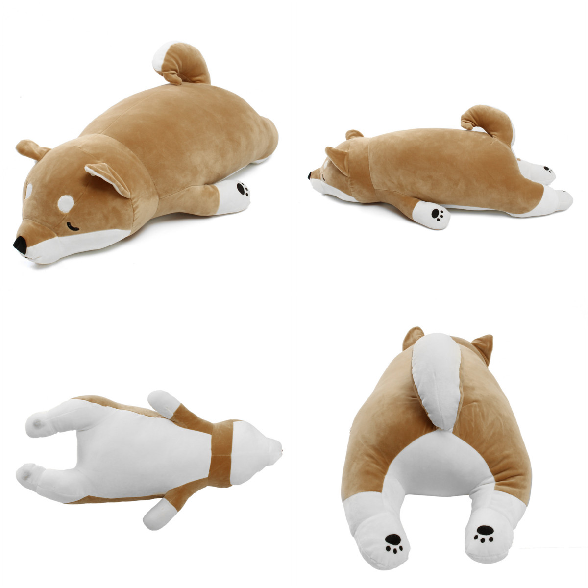 Japanese Anime Shiba Inu Dog Stuffed Plush Toy Doll Soft Stuffed Animal Toy Cute Puppy