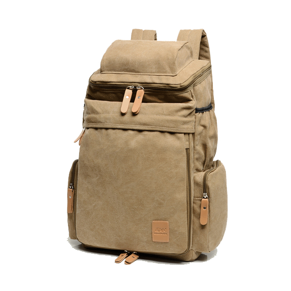 Men Women Large Capacity School Laptop Backpack Canvas Casual Backpack