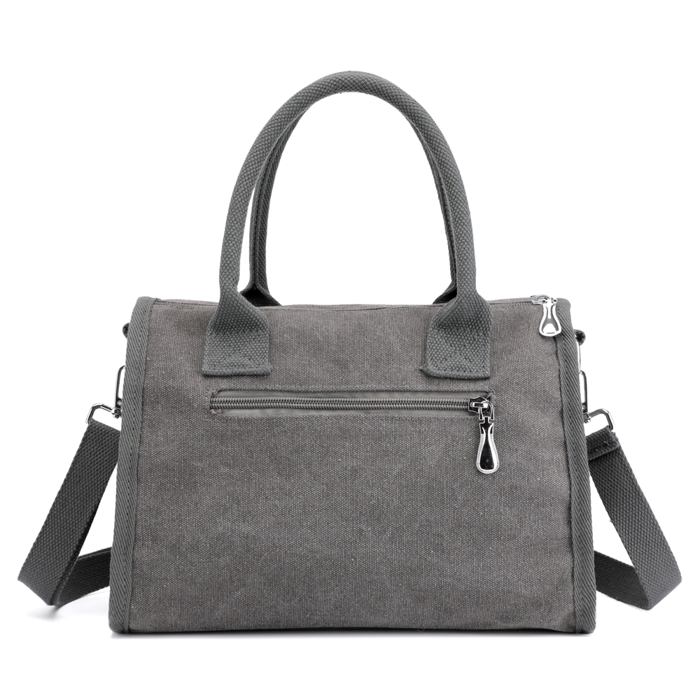 KVKY Canvas Tote Handbags Simple Shoulder Bags