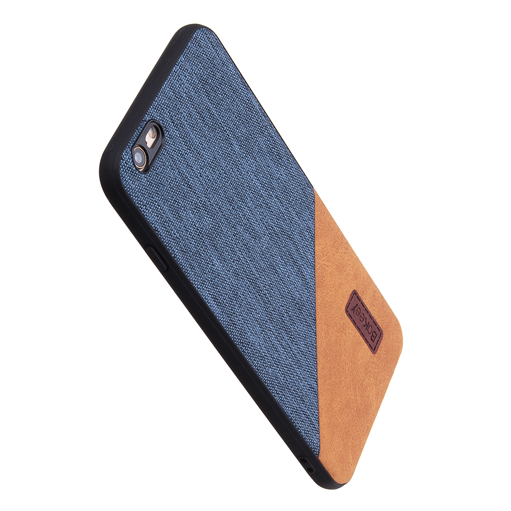 Bakeey Canvas Shockproof Fingerprint Resistant Protective Case For iPhone 6/iPhone 6s