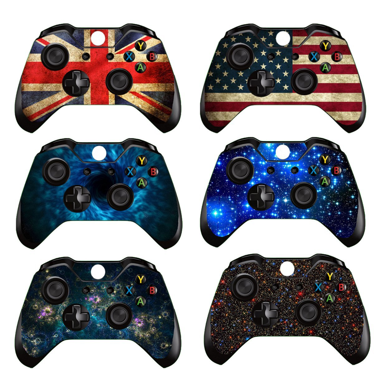 Skin Decal Sticker Cover Wrap Protector For Microsoft Xbox One Gamepad Game Controller