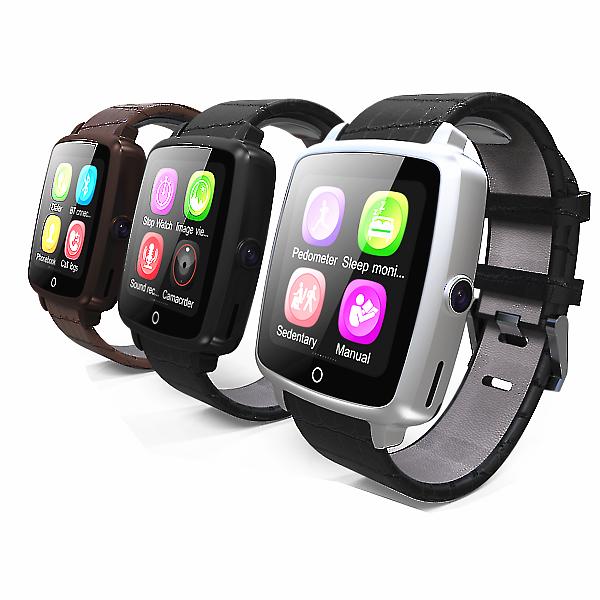 U11C GSM/SIM Bluetooth Smart Watch with Camera 0.3 MP F