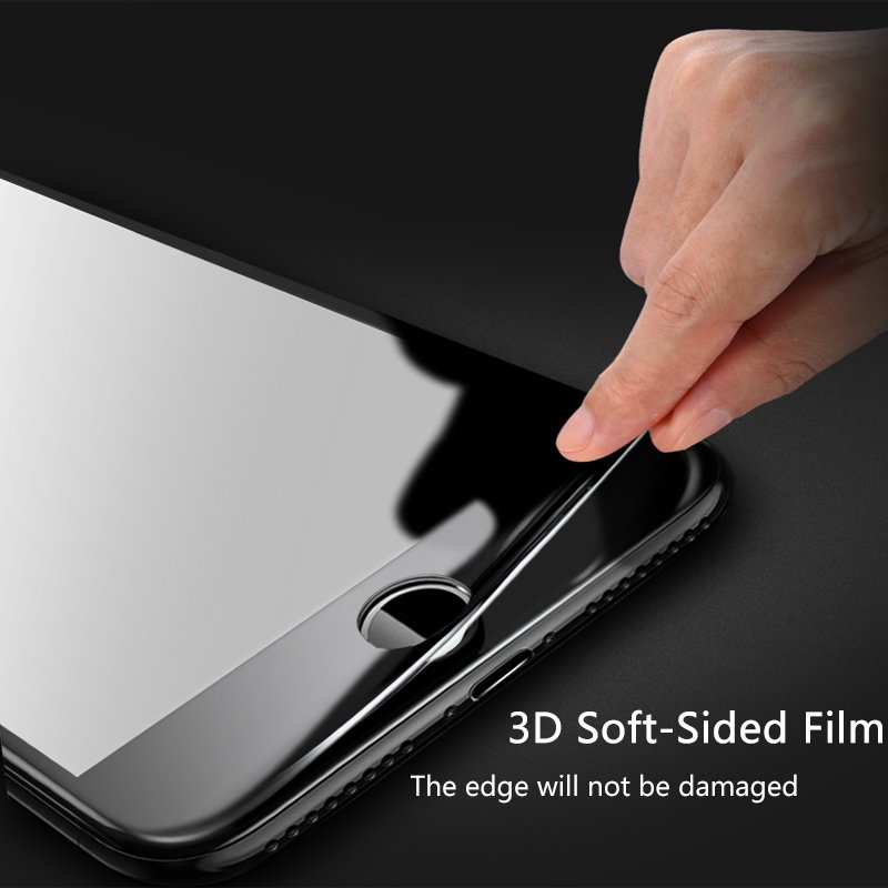 Bakeey 3D Soft Edge Carbon Fiber Tempered Glass Screen Protector For iPhone 6/6s 4.7
