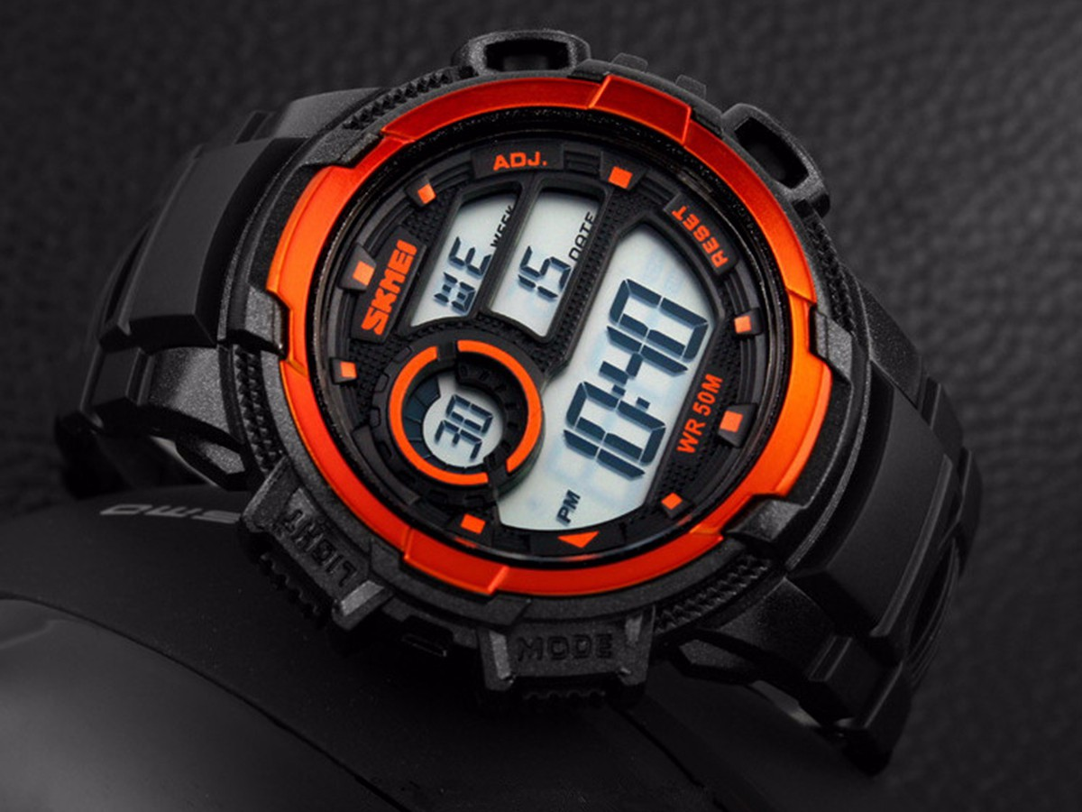 SKMEI 1113 Digital Multifunction Men Women Wrist Sport Watch