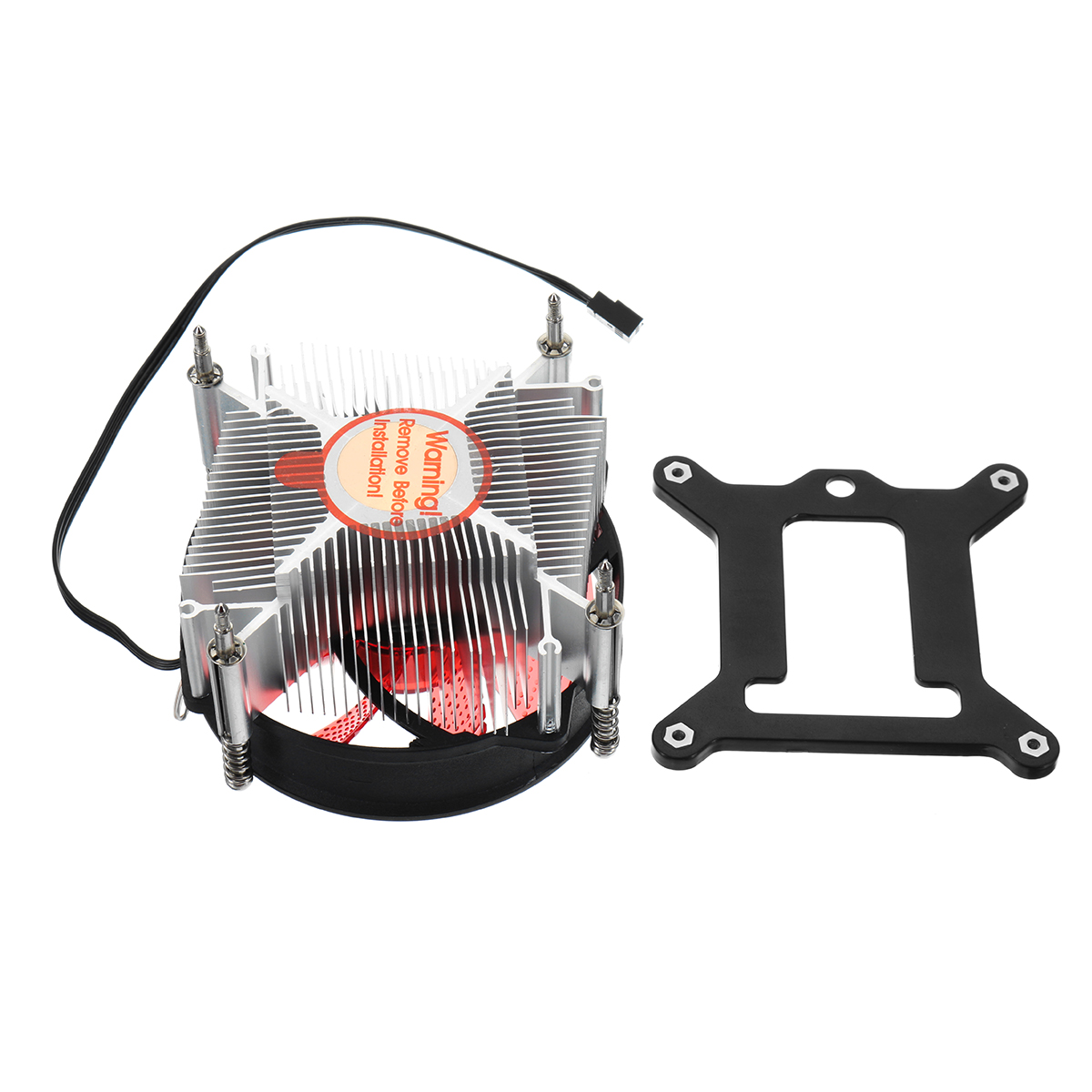90*90*25mm 4Pin 12V Red Blue Green LED CPU Cooler Cooling Fan for Intel 1150 1155 1156 1151
