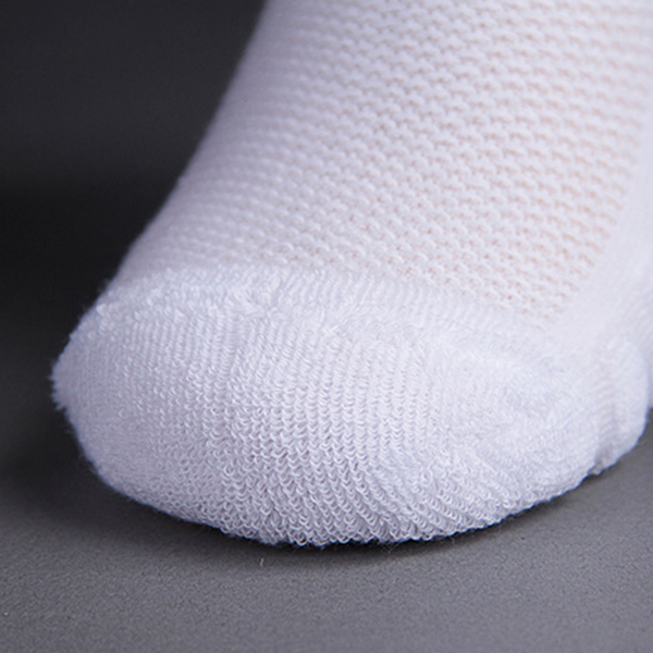 Mens Warm Thick Cotton Socks Middle Tube Foot Reflexology Sports Solid Color Winter High Socks