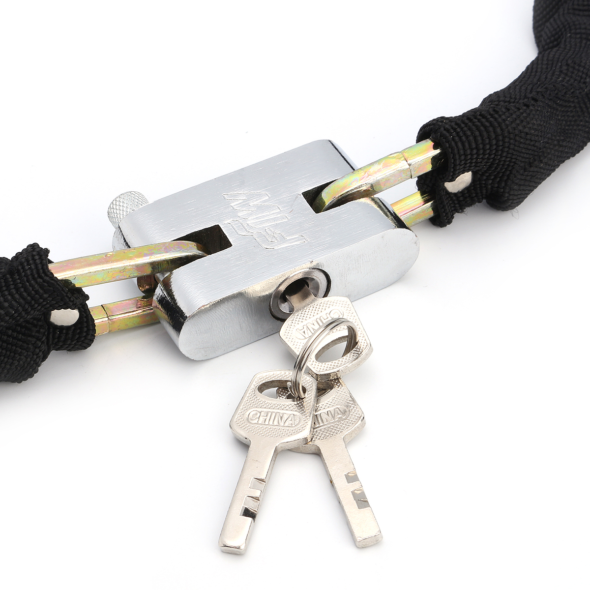 80cm Strong Security Motorcycle Bike Bicycle Heavy Duty Chain Lock Padlock