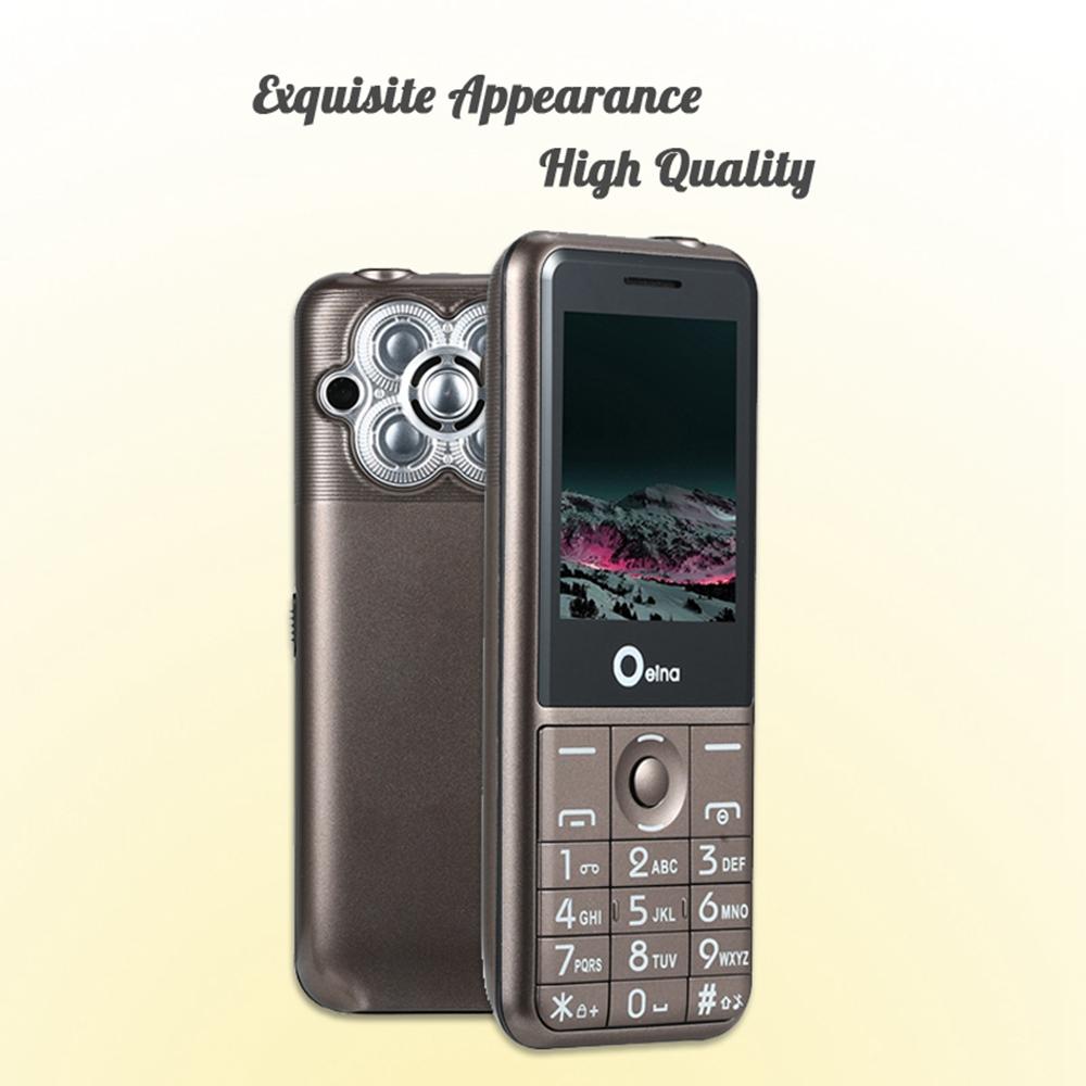 OEINA T18 2.4 Inch 2500mAh Big Battery 3 Sim Card Power Bank bluetooth Flashlight Feature Phone