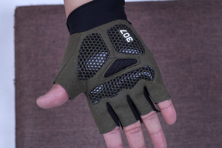 FAITH PRO Hunting Tactical Half Finger Military Camouflage Cooler Motorcycle Bike Anti Skid Gloves