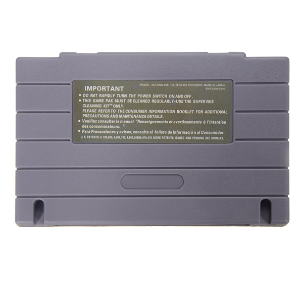 Megaman & Bass 16 Bit Game Cartridge Card for SFC SNES Battery Save File