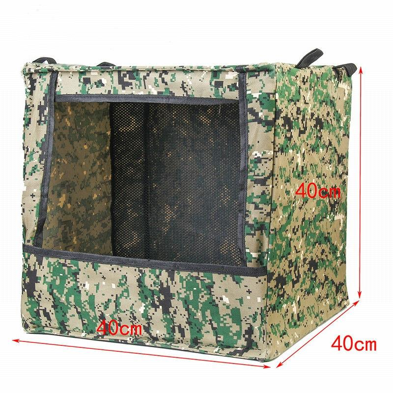 Men's Portable Foldable Outdoor Box-type Airsoft Gun Shooting Game Target Case