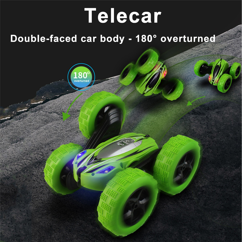 RC Stunt Car 2.4Ghz RC Car Off Road Electric Race Double Sided 360 RTR Toy