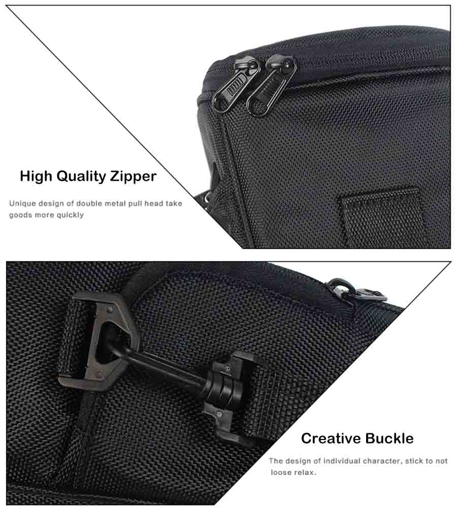YINGNUO Camera Storage Triangle Bag for Nikon for Canon DSLR Camera