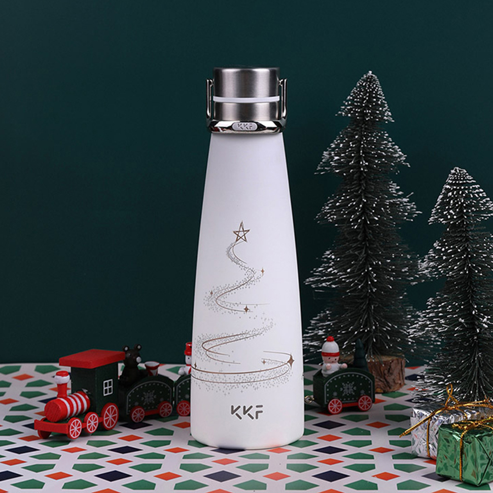 XIAOMI KISSKISSFISH [ Limited ]Smart Vacuum Thermos Water Bottle Thermos Cup Portable Water Bottles Best Gift Choice