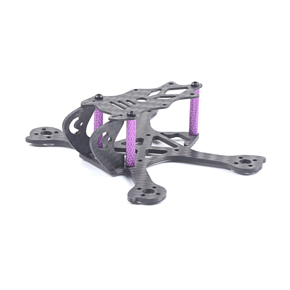Skystars Jetcat X90 90mm Wheelbase 2mm Arm 3K Carbon Fiber Frame Kit for RC Drone FPV Racing