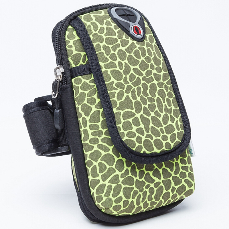 Outdoor Sports Arm Bag Wrist Arm Bag Mobile Phone Package Camouflage Printing Shockproof