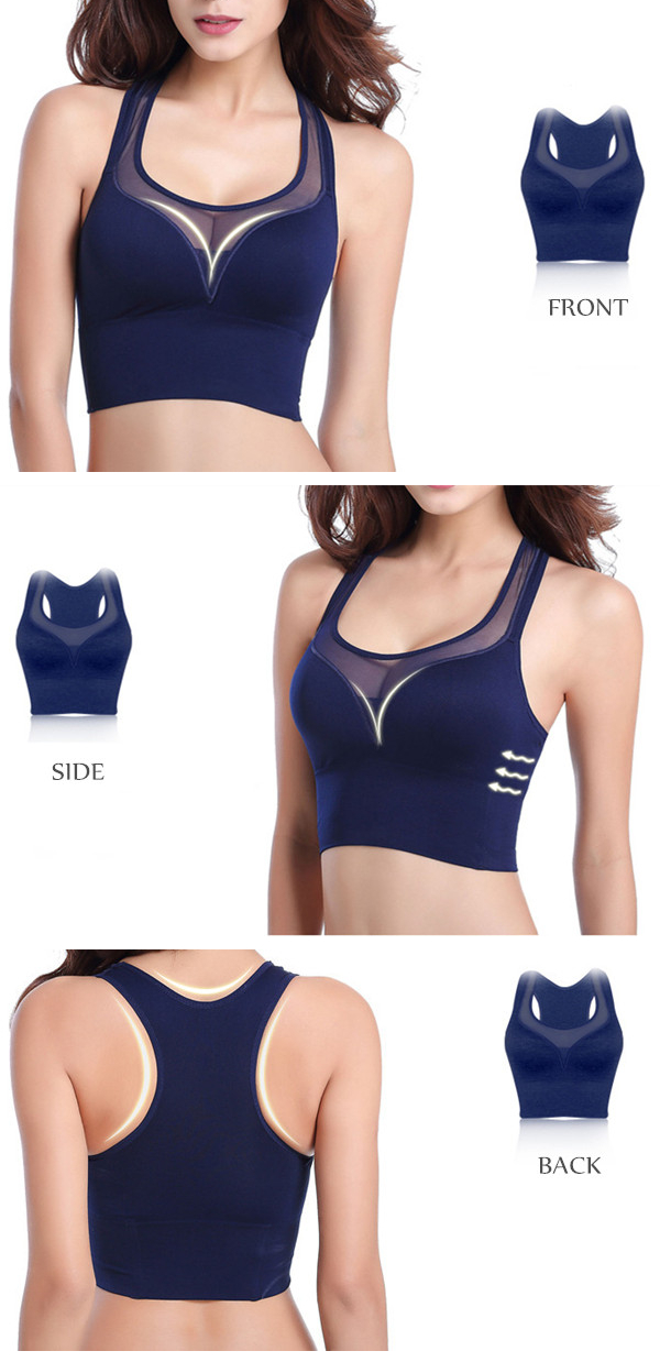 Wire Free Shapping Comfort Fitness Sports Yoga Bra