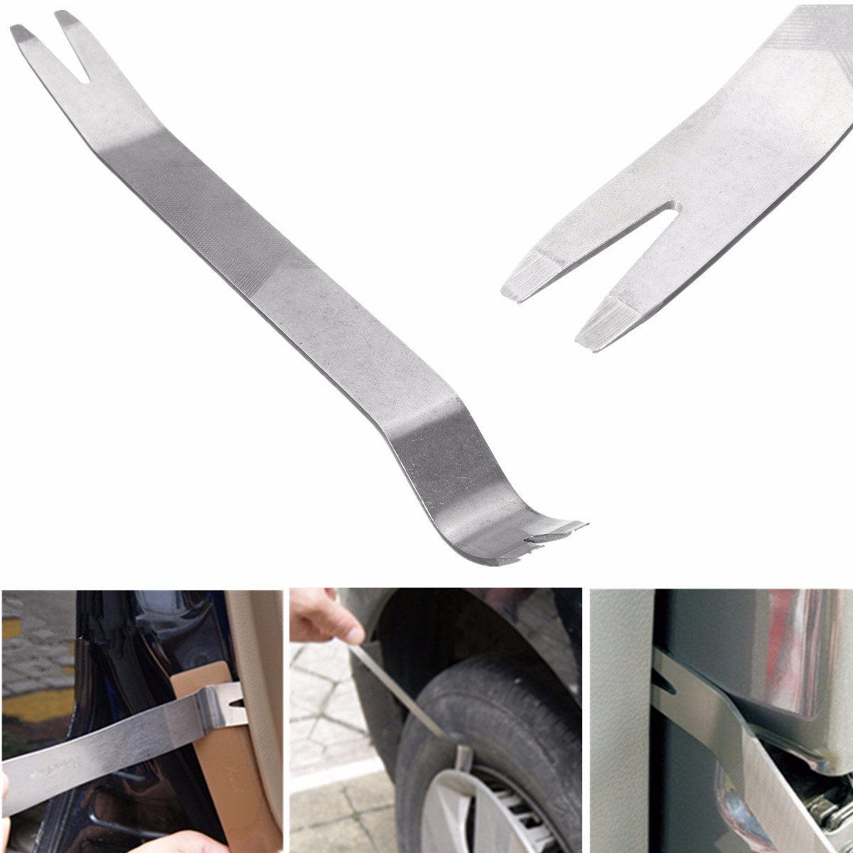Car Door Remove Panel DVD Navigation Disassembly and Assembly Audio Tool Seesaw Stainless Tool