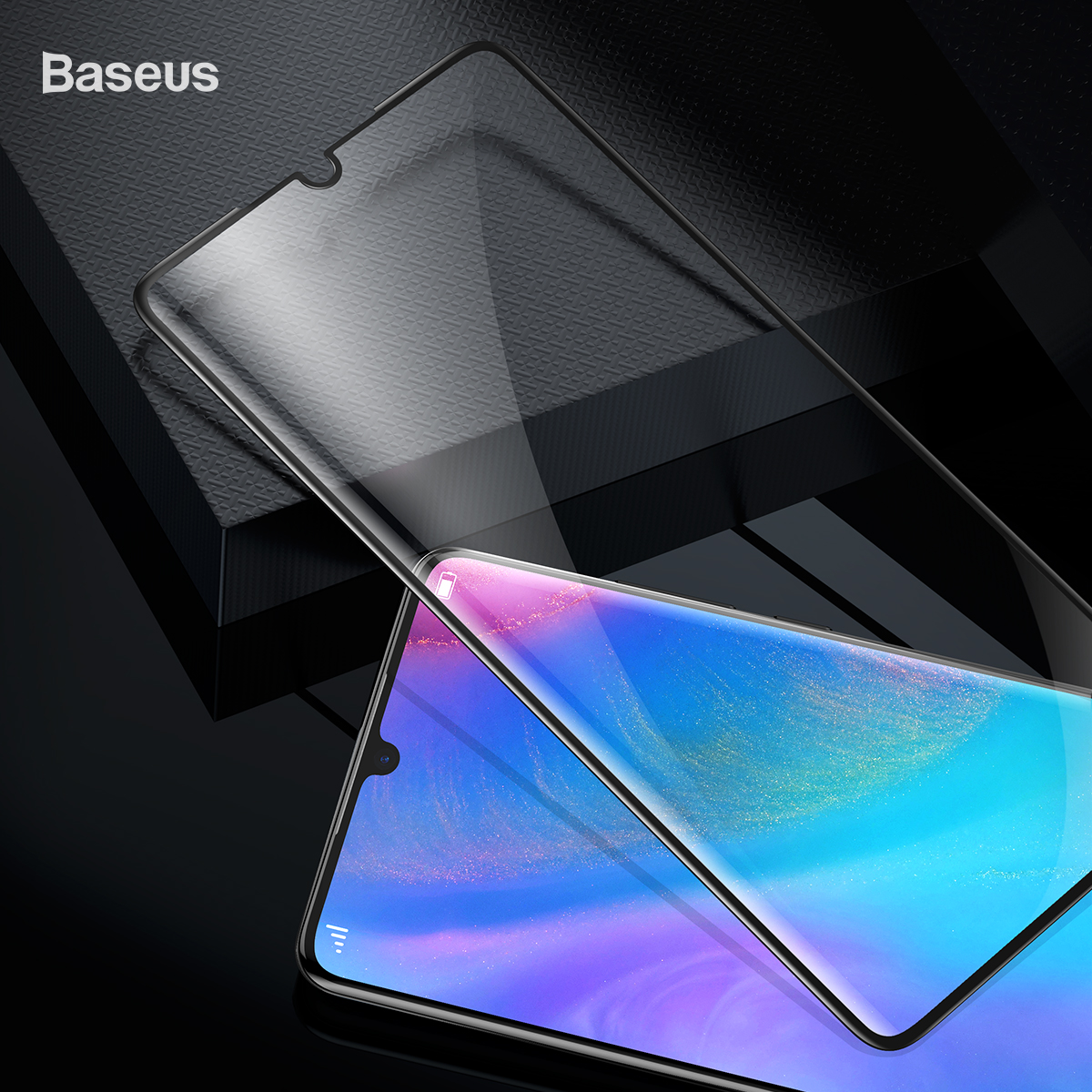 Baseus 2PCS 0.15mm Full-cover Curved High Definition Anti-explosion Soft Screen Protector For Huawei P30 Pro