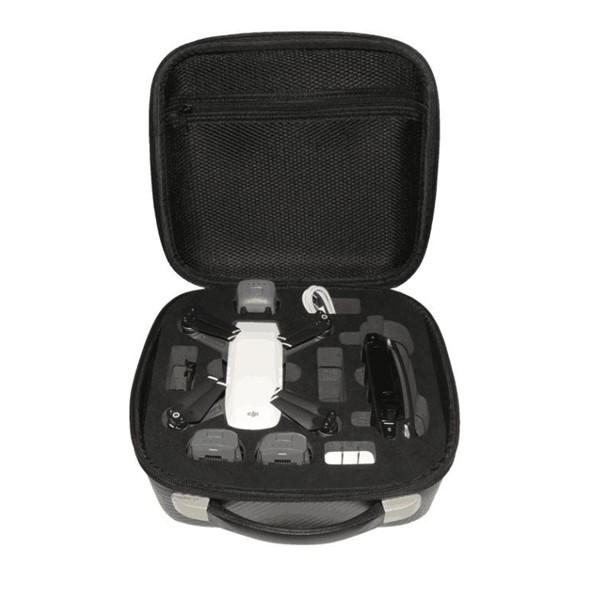 Waterproof Handbag Case Carrying Bag RC Quadcopter Spare Parts For DJI Spark Description: Item name: Waterproof Handbag Color: Black, grey Usage: For DJI Spark RC Quadcopter Features: Durable wear resistant and strong enough. Large capacity, very useful a #handbag