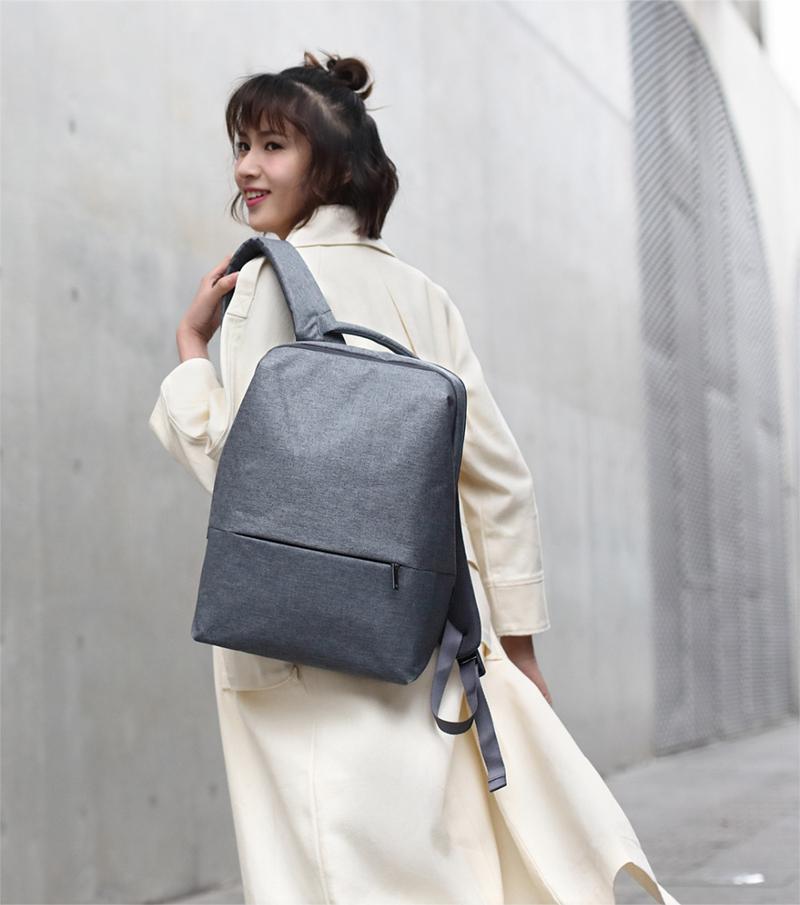 Xiaomi 90FUN Urban City Simple Backpack 14inch Laptop Waterproof Mi Rucksack Daypack School Bag