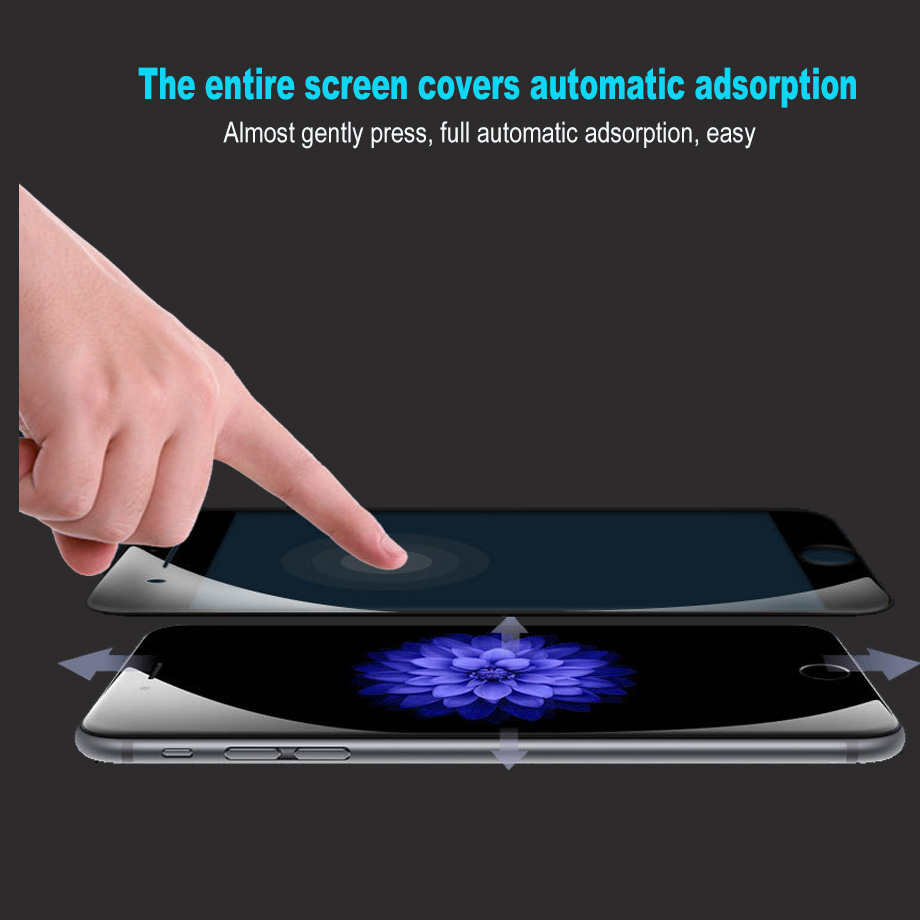 Bakeey 5D Curved Edge Cold Carving Tempered Glass Film For iPhone 8 Plus