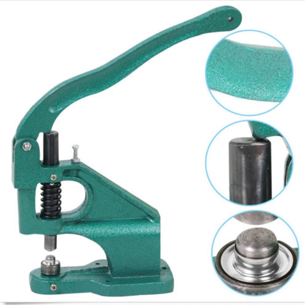 1500pcs Grommets Eyelet Press Presser Punches Tool Grommet Machine 3 Die (#0 #2 #4)
