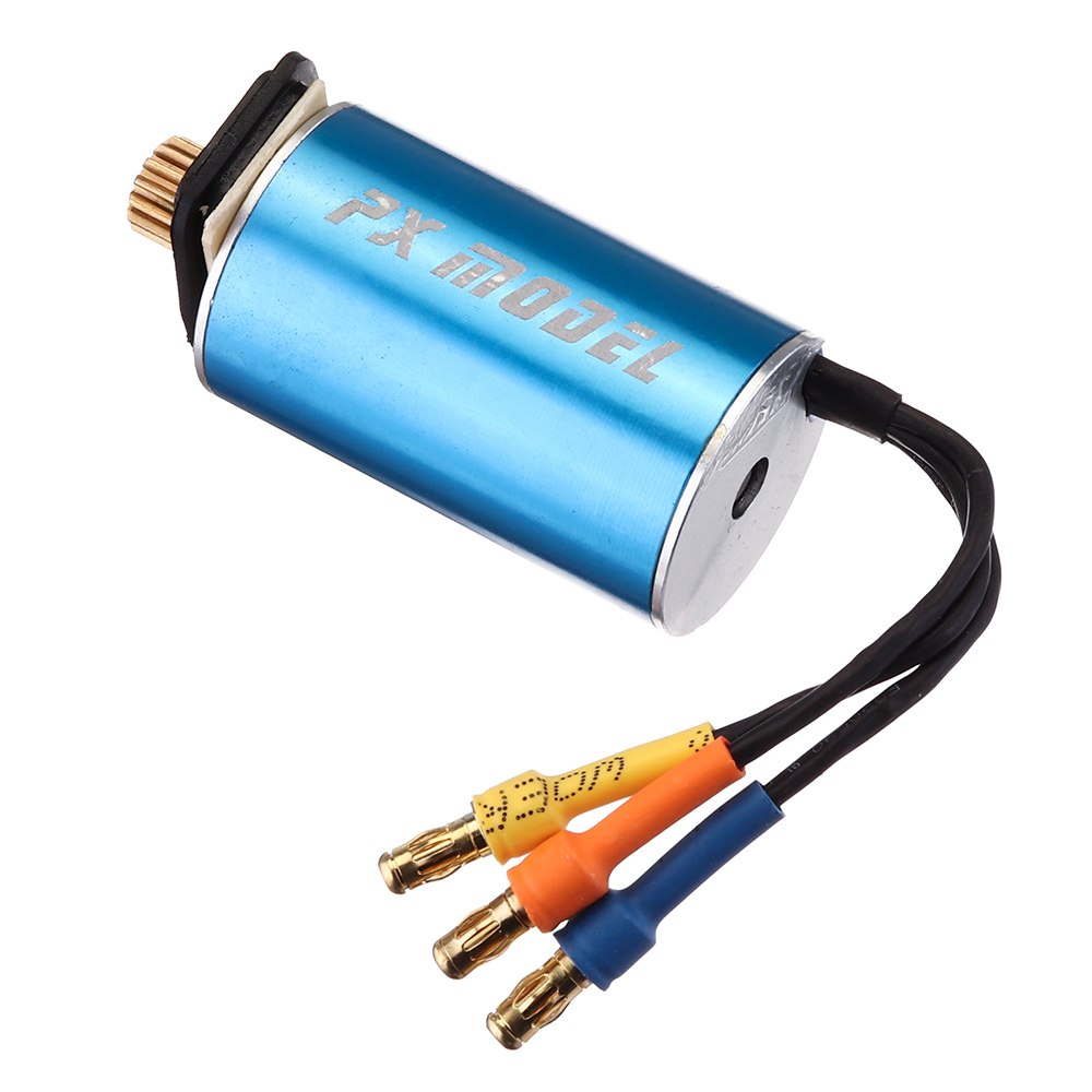 PXtoys 2440 4300KV Brushless Waterproof Motor for 9300/9301/9302/9303/9303-1 1/18 Rc Car Parts - Photo: 7