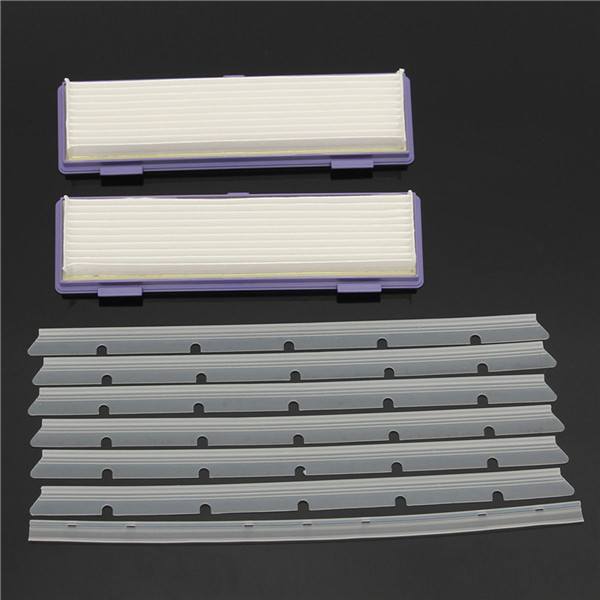 9pcs Sweeper Accessories Replacement Filters Adhesive Tapes and Scratch-chip for Neato XV