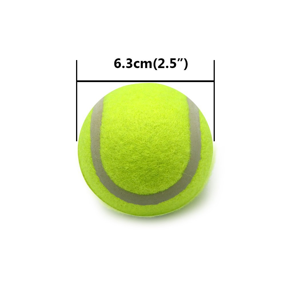 Yani TN-BG8 2.5 Inches Dog Tennis Ball Pet Toy Giant Pet Toy Tennis Ball Dog Chew Toy