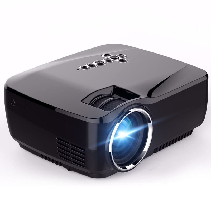 GP70UP Android 4.4 Mini LED Projector with Google Play Updated by GP70 Portable Projector 1G/8G Bluetooth WiFi TV Beamer