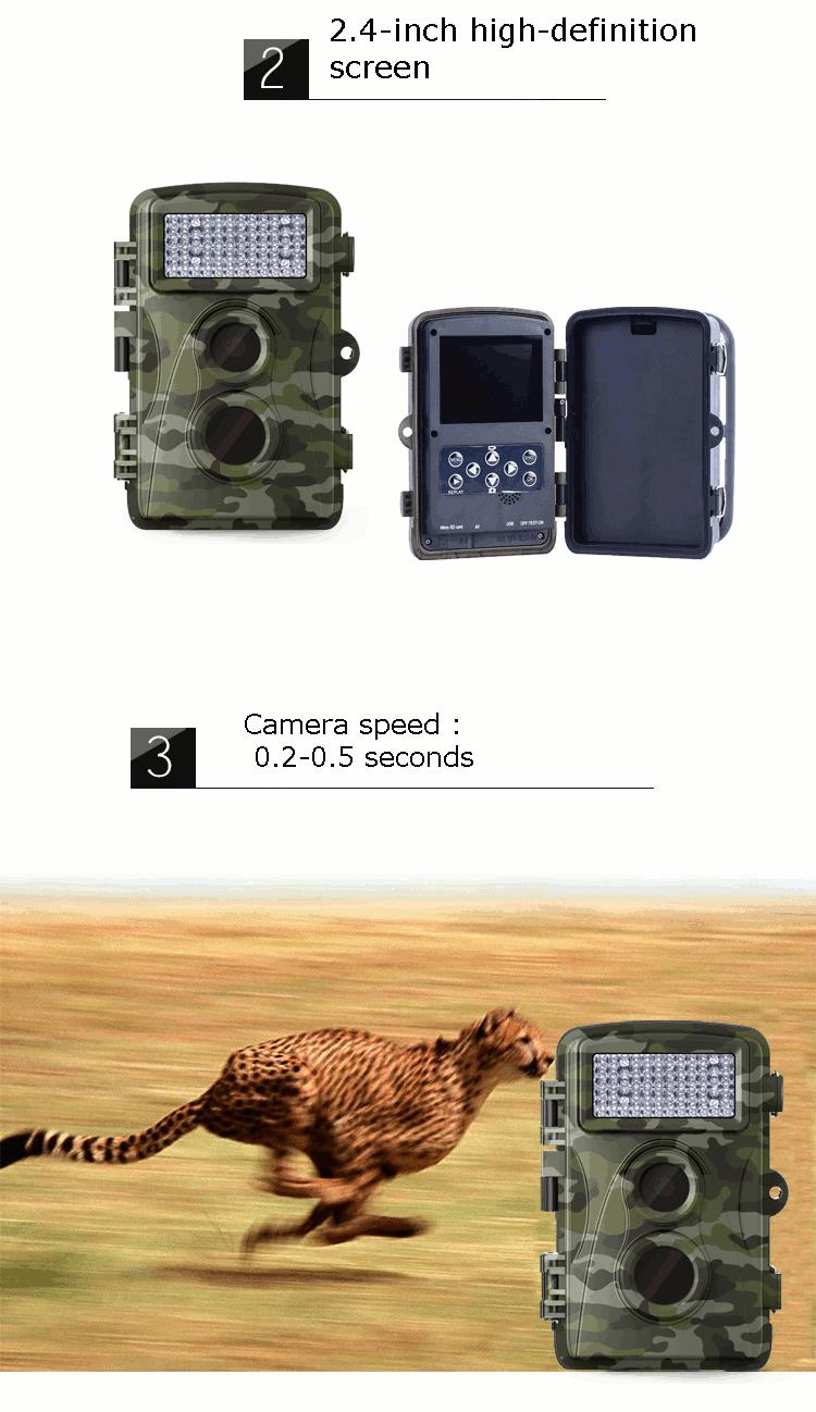 KALOAD Hunting Camera H901 Tactical 5MP Monitor Digital Waterproof Anti Theft