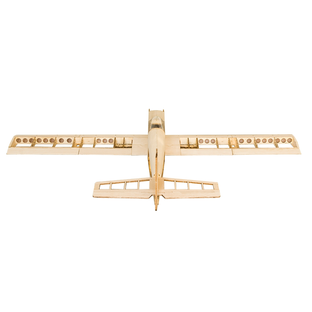 T30 1400 1.4M Balsa Wood Wingspan Trainer RC Airplane DIY Model With/Without Power Spare Parts