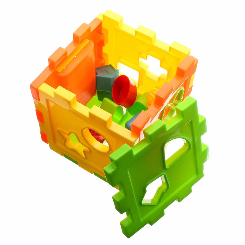 Children's Product Box Shape Geometry Matching Blocks