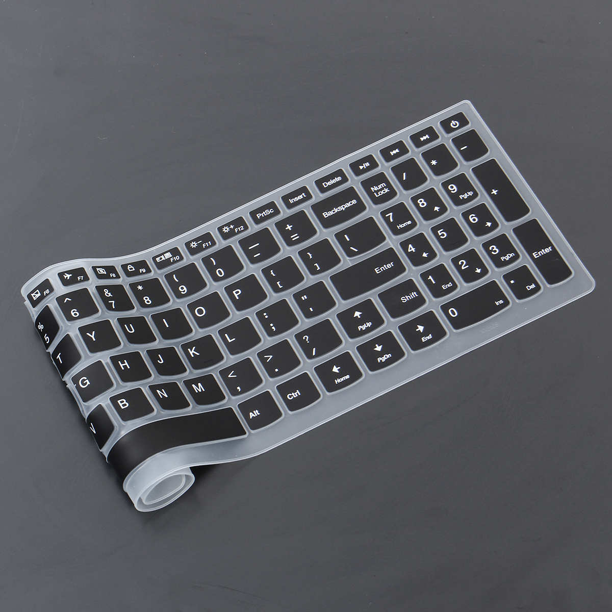 15.6 Inch Silicone Laptop Keyboard Protective Film for Lenovo Ideapad 110