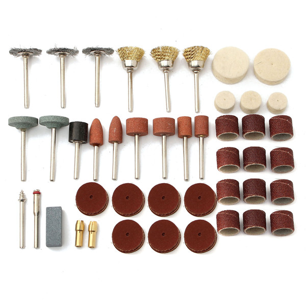 216pcs Rotary Tool Accessory Set Grinding Sanding Polishing Brush Cutting Kit for Dremel