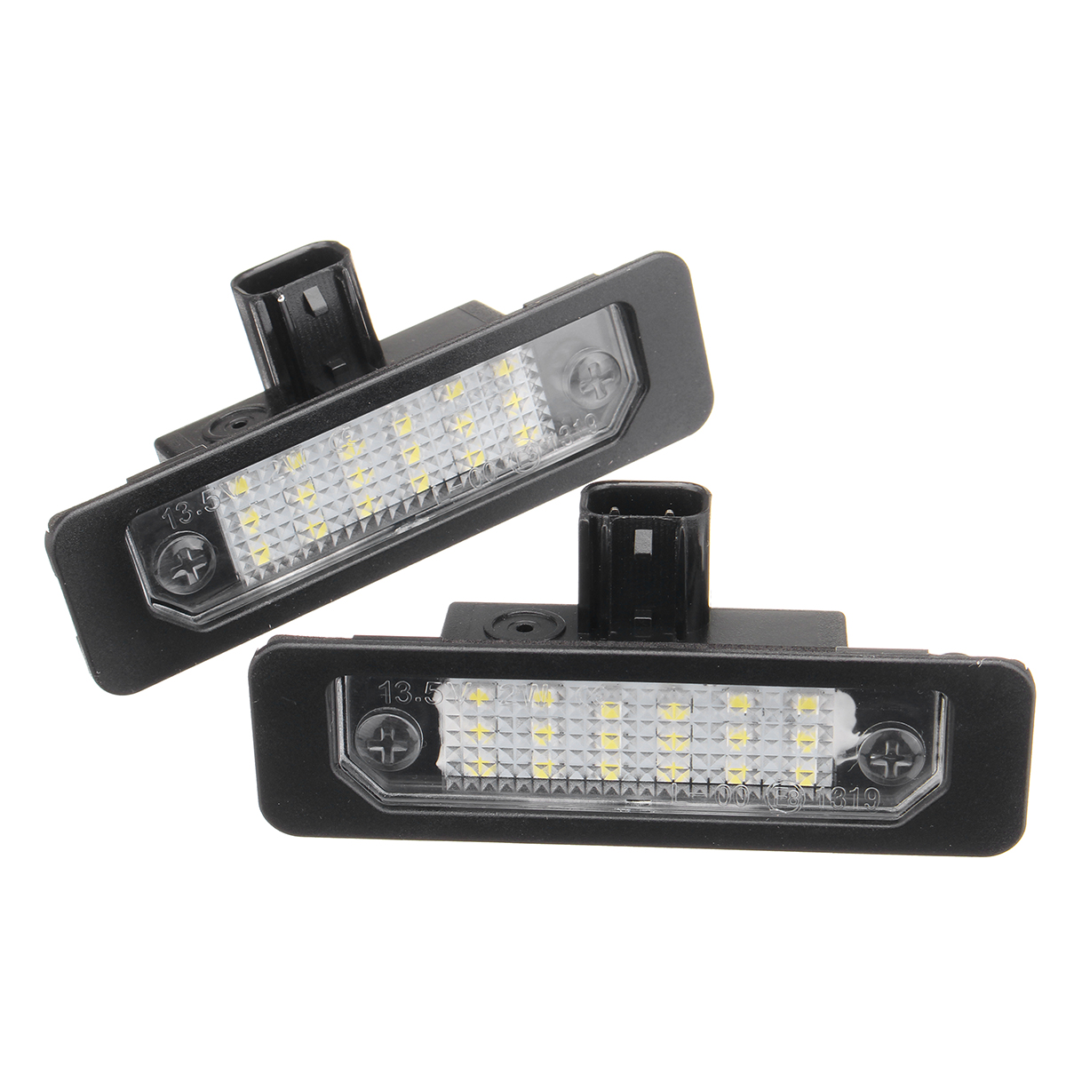 2PCS Car Rear Number License Plate Lights Lamp for Ford