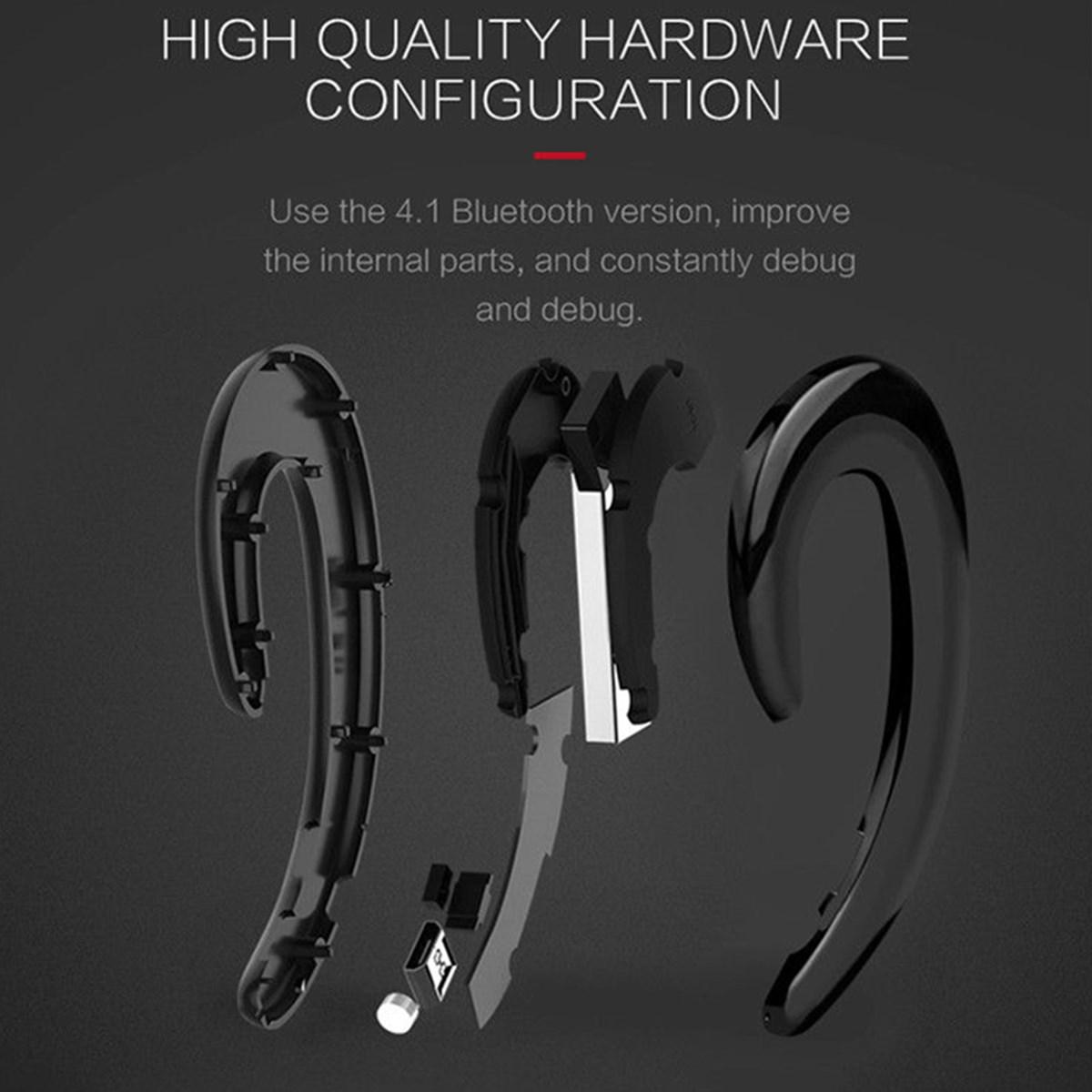 Bone Conduction Earhooks Wireless bluetooth Headset Stereo Sports Headphone Earphone