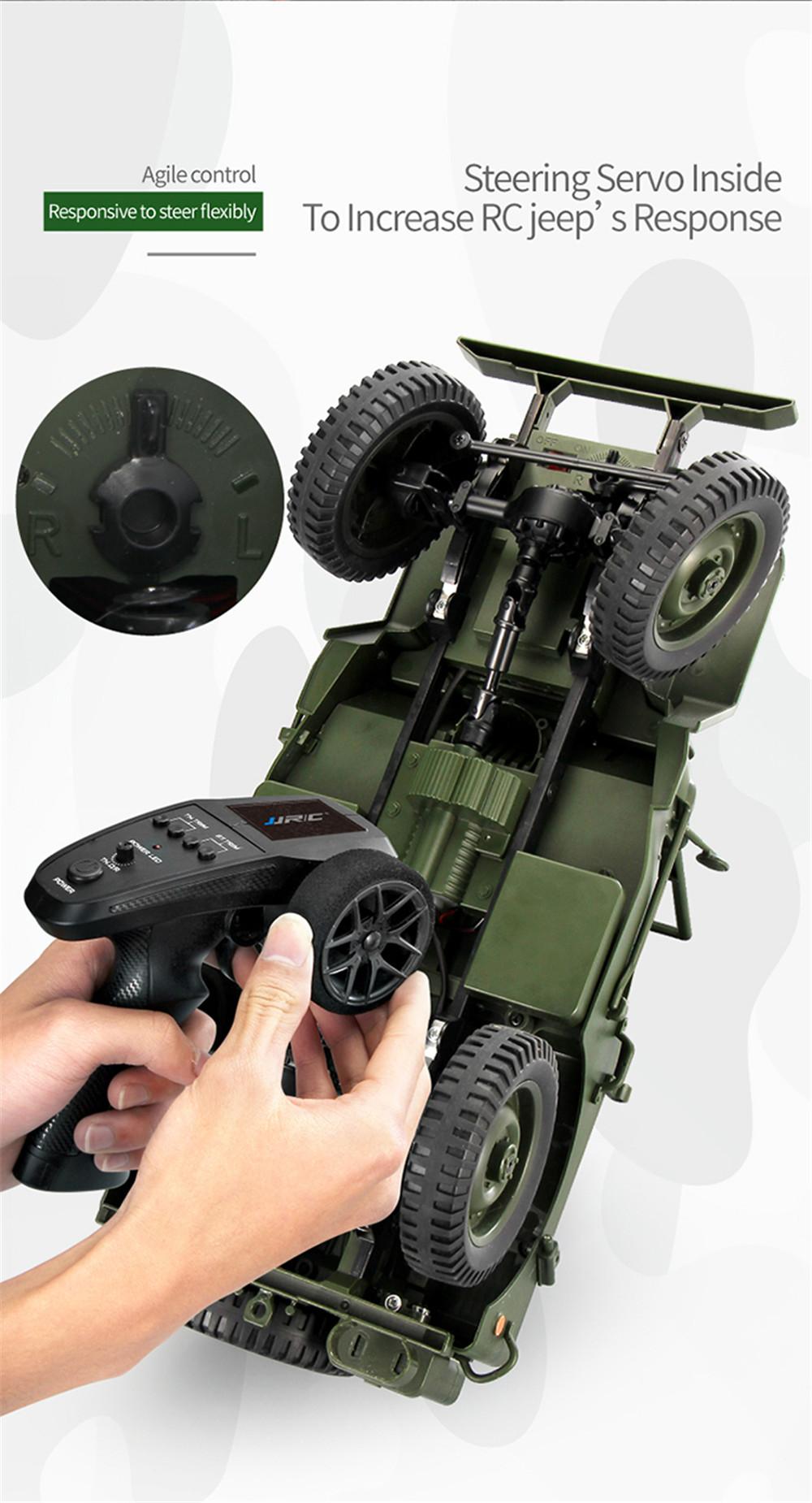 CES NEWS' JJRC Q65 2.4G 1/10 Jedi Proportional Control Crawler RC Car