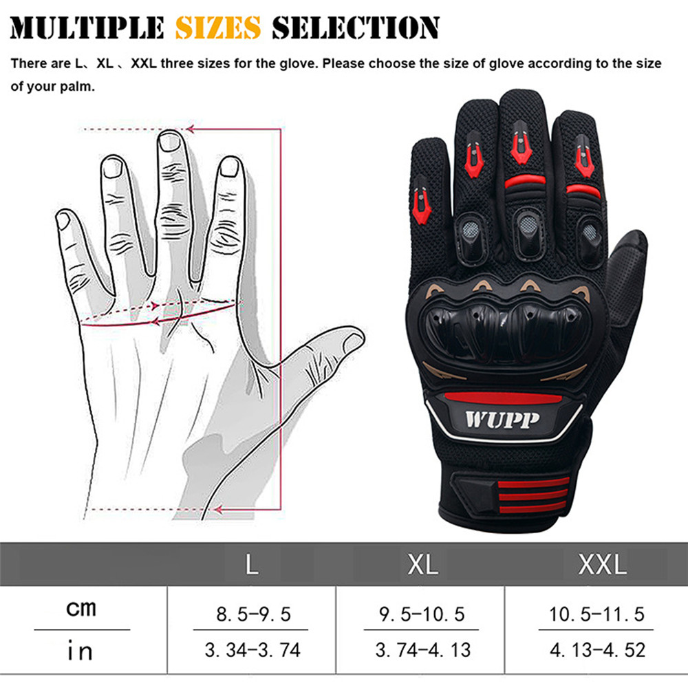 Motorcycle Rider Protective Touch Screen Winter Warm Waterproof Windproof Glove