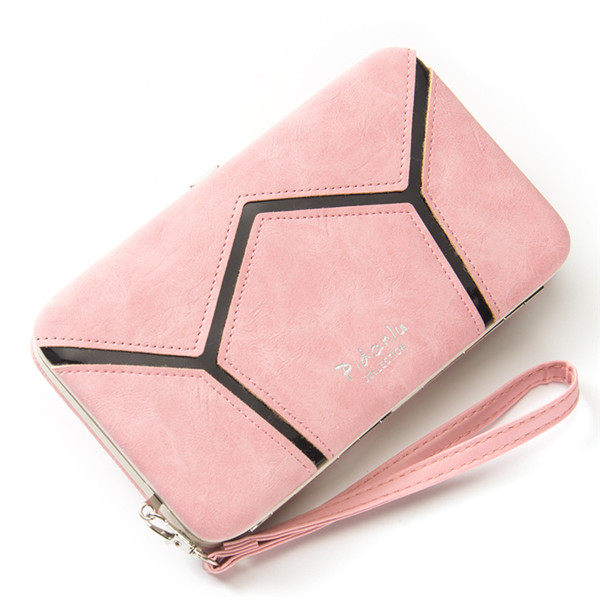 Universal 5.5 Inch Geometry Multipurpose Leather Wallet Case for Iphone Samsung Xiaomi Huawei