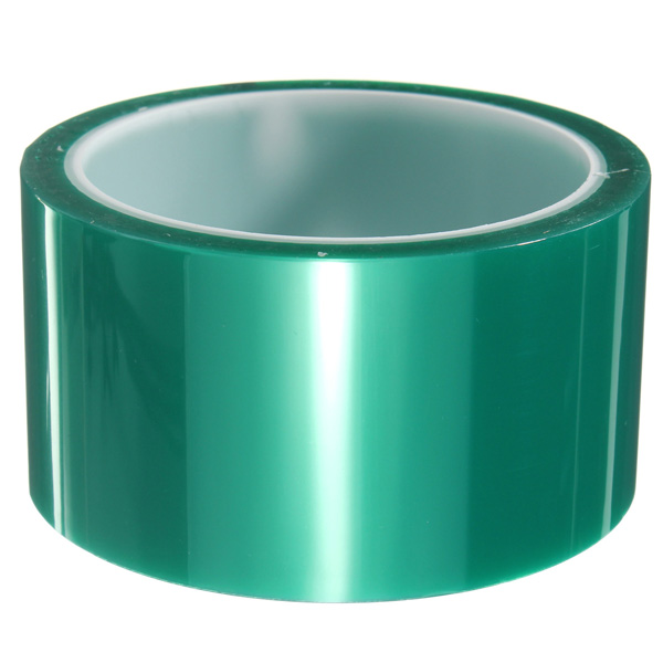 50mmx33m Green PET Tape High Temperature Heat Resistant