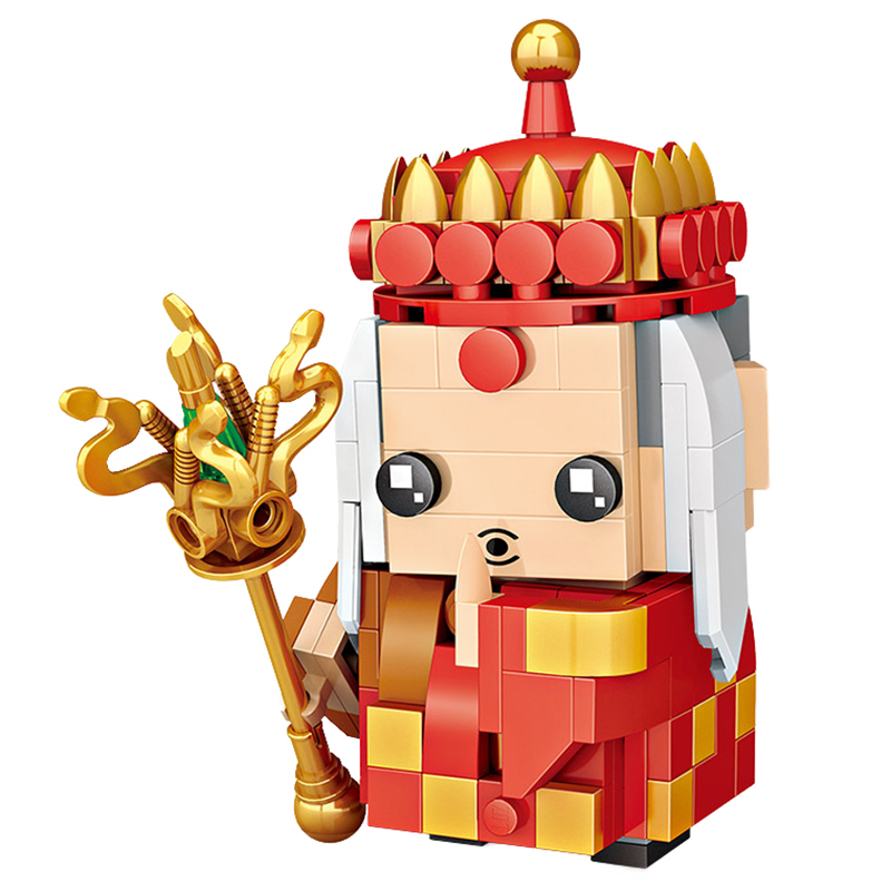 LOZ Diamond Bricks Building Blocks Toys The Journey To The West Figure Model Collection Toy