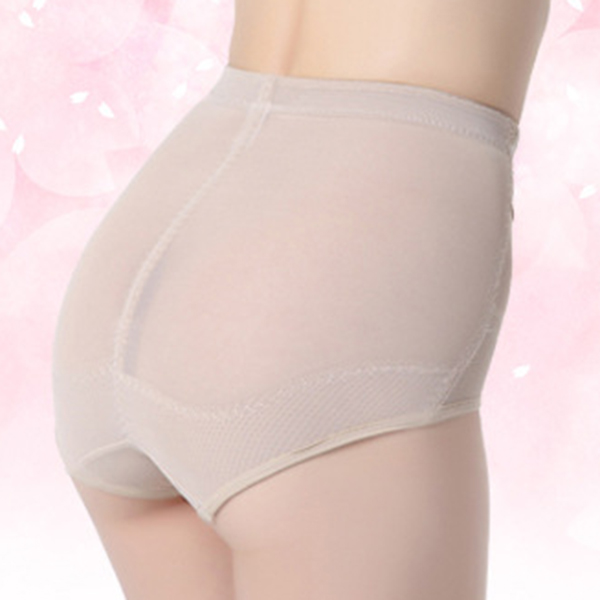 Soft Lace Hip Lifting Mid Waist Stretchy Breathable Panties