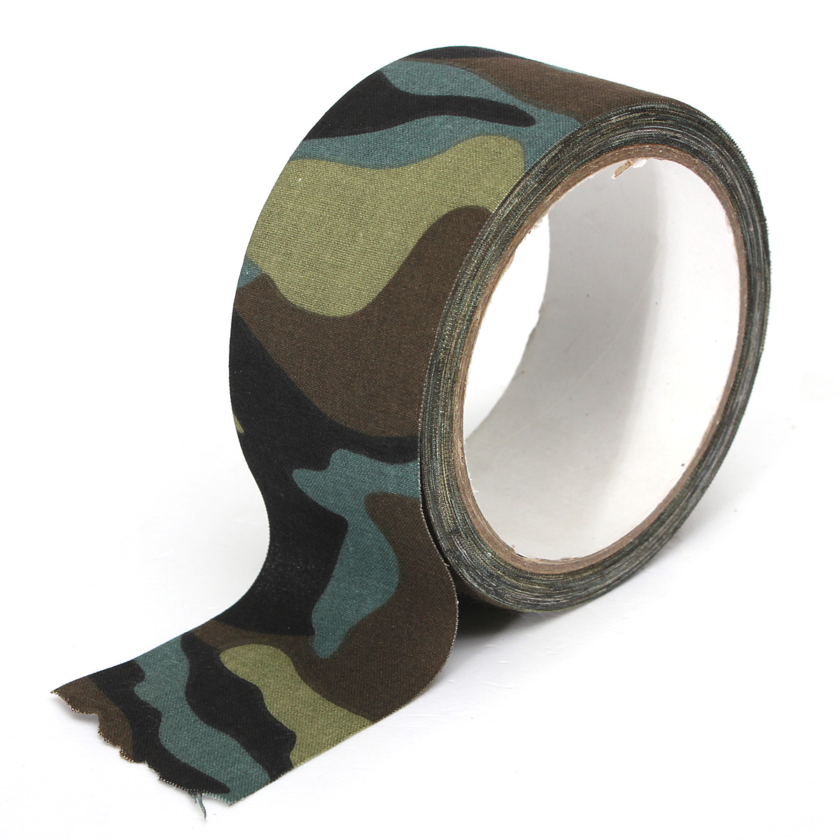 10M Camouflage Wrap Tape Camo Tape Duct Waterproof Mutifunctional Fabric Camping Stealth Tape