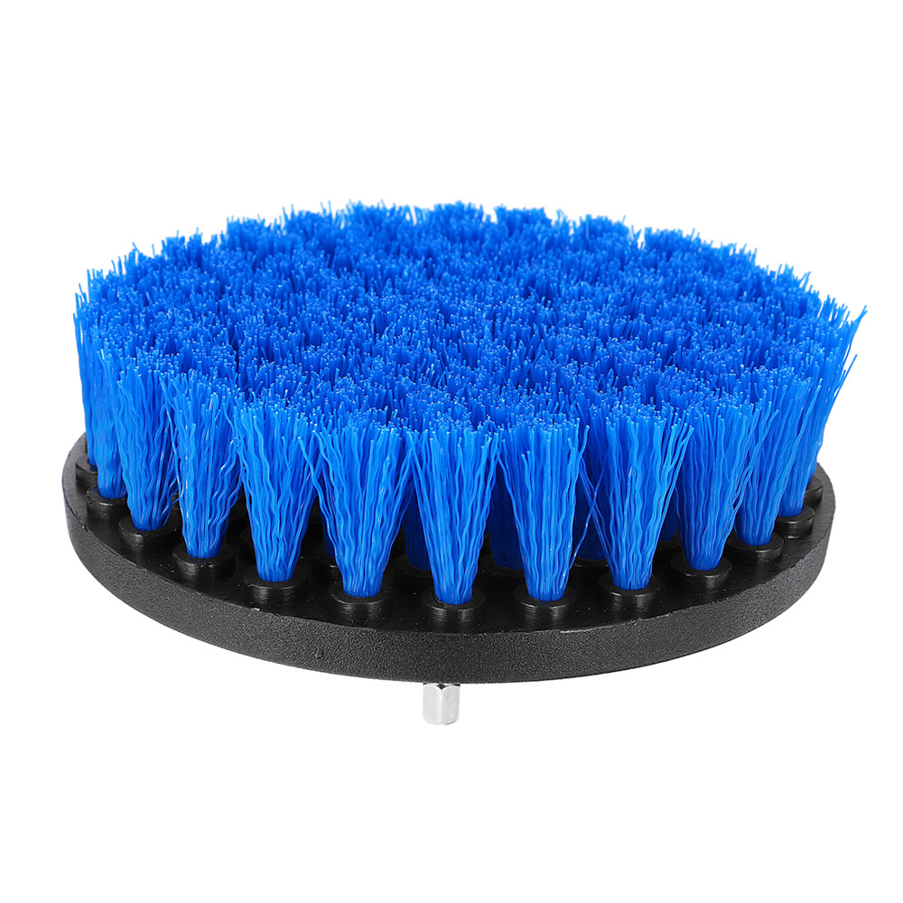 5 Inch Red/Blue/Green Power Scrub Drill Cleaning Brush Tile Grout Power Scrubber Tub Cleaning Brush