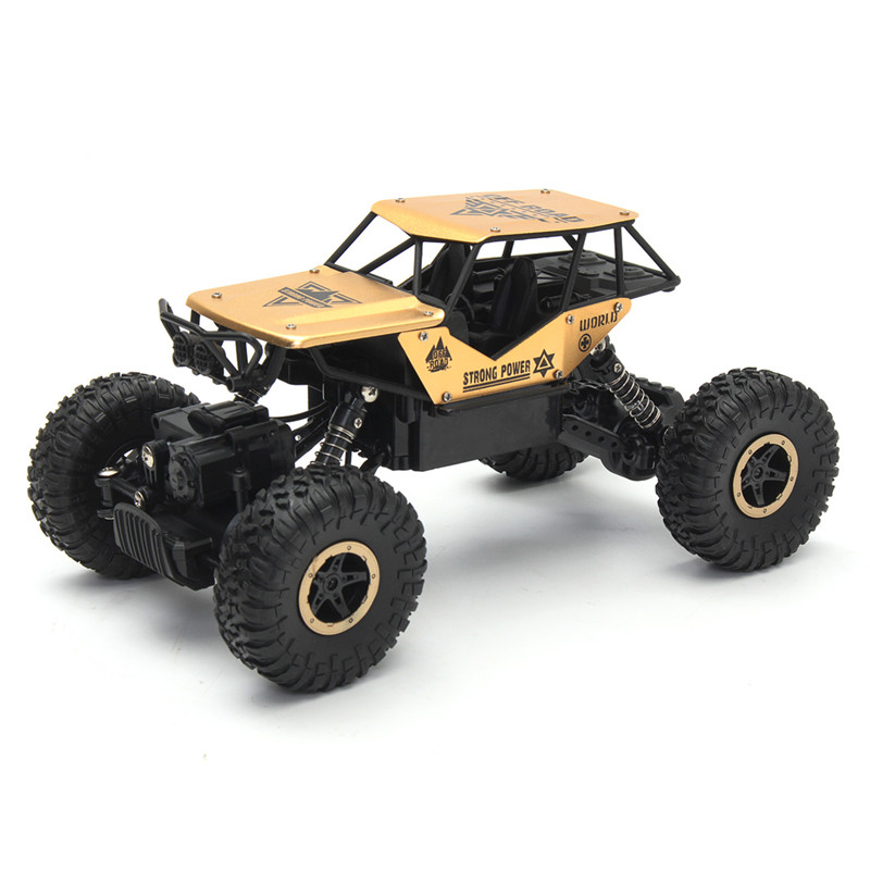 1/18 2.4G Radio Remote Control Rock Crawler Drive RC Car Toy Off-Road Buggy Gift