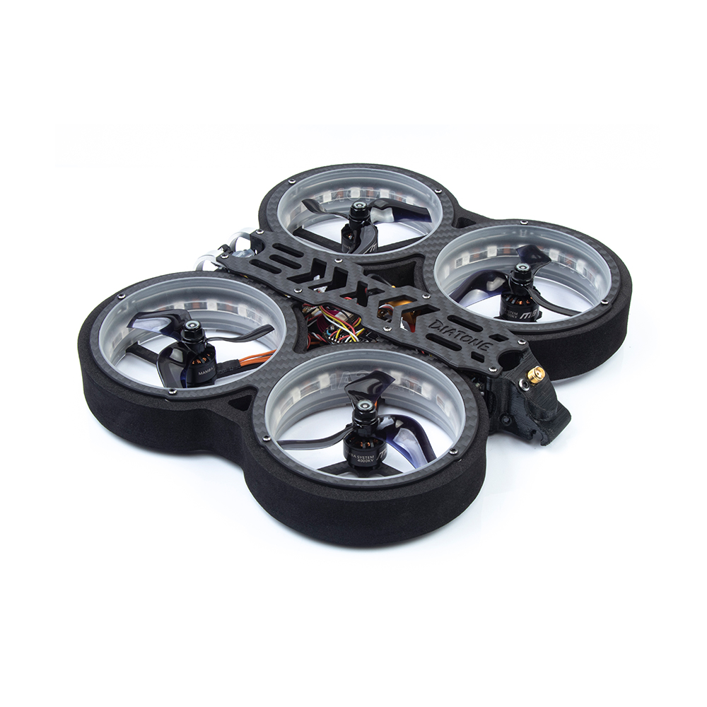 Diatone MXC TAYCAN 369 SW2812 LED DUCT 3 Inch 6S Freestyle CineWhoop FPV Racing Drone w/ DJI Air Unit - Photo: 4